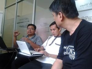 Diskusi Antara Pengusaha Binaan GIMB Batch 2 dan Coach Meriza Hendri