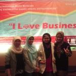 Para Pengusaha Wanita Binaan GIMB dalam I Love Business