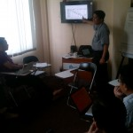 Meriza Hendri Mengajar di GIMB Entrepreneur School