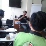 Meriza Hendri Pada Saat Mengajar di GIMB Entrepreneur School