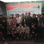 Mr Q dan peserta I Love Business 14