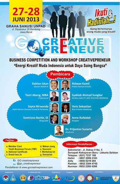 Lomba Business Plan Go Creativepeneur