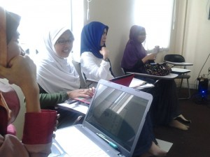 Suasana GIMB Batch 2 Sabtu Sore