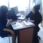 Vita GIMB bersama Perwakilan Bank BJB