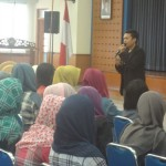 Agus Santoso GIMB di Workshop Whats Your Talent STIE Ekuitas Bandung