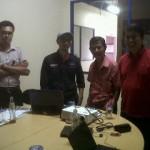 rapat dengan manajemen TV Bandung