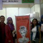 entrepreneur GIMB di Muslimah Fest, Ka Anne, Mba sissy, Kang Agus dan teh Vita