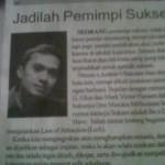 Artikel Agus GIMB dimuat di Koran Bisnis Bandung