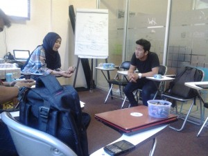 Neng Tika on Coaching StartUp Entrepreneur Muda GIMB