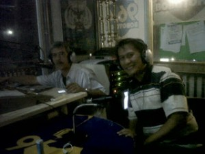 On air di Radio Bobotoh