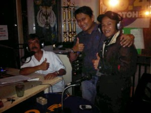 On air radio Bobotoh